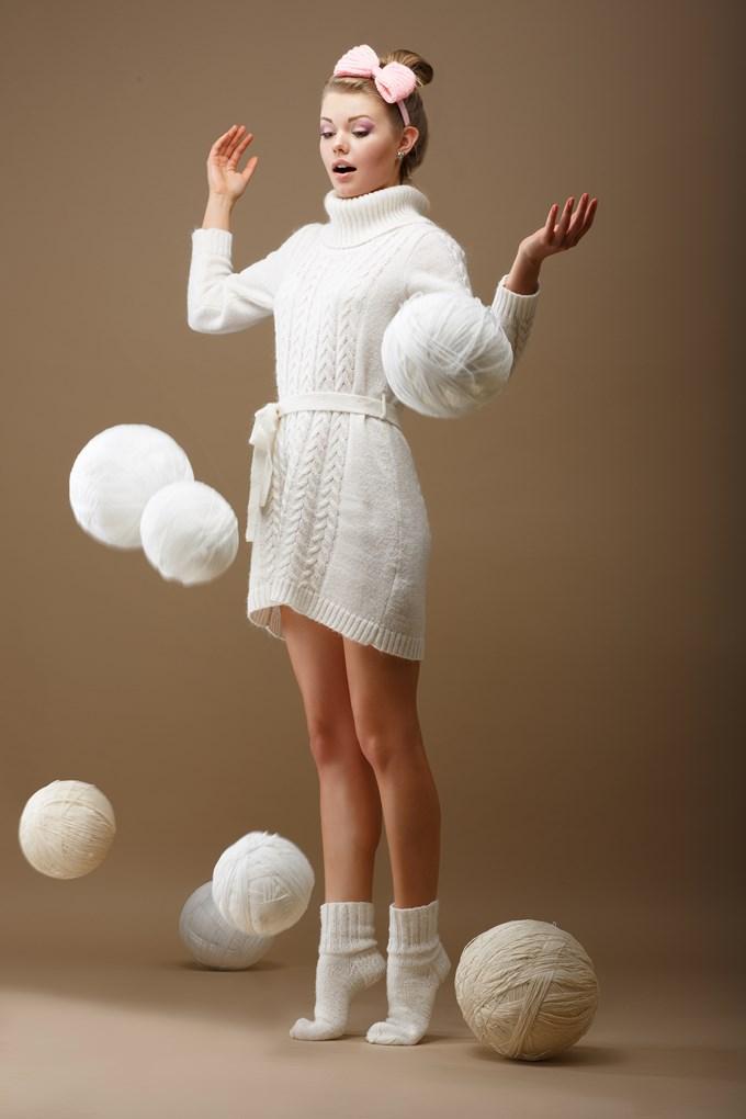 La laine pour l'hiver