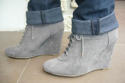Boots compensées, plates ou à talons