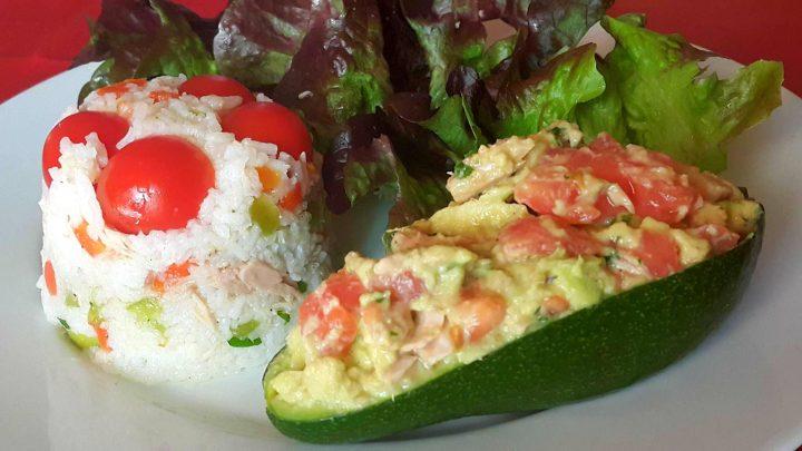 Salade de riz, un plat bénéfique pour la ligne