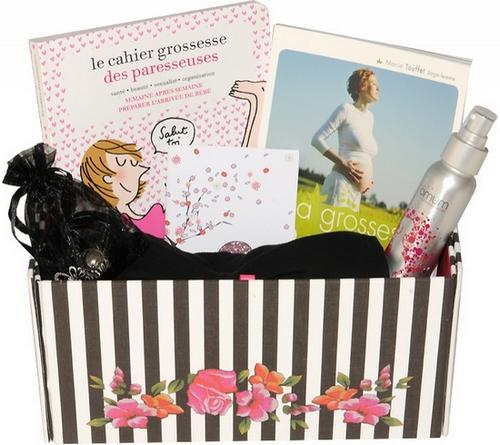 Coffret cadeau femme enceinte