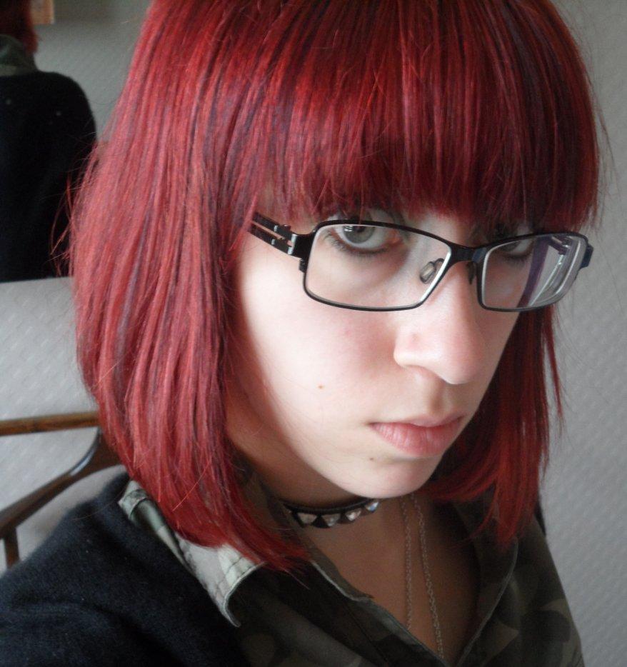 Comment avoir une couleur de cheveux rouge vif - Coloration rouge vif ...