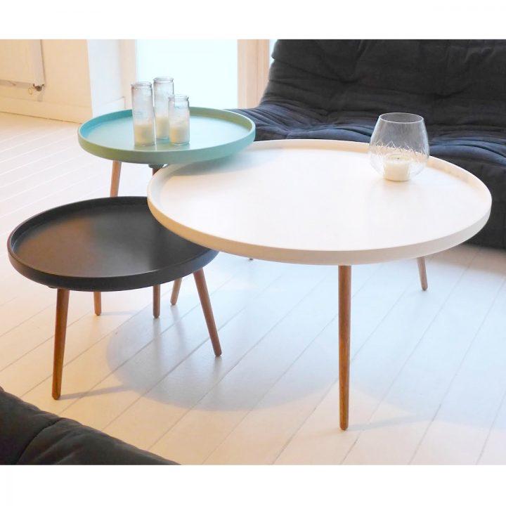 Tables basses : on préfère des meubles très fonctionnels