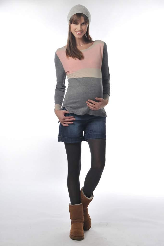 short femme enceinte. Black Bedroom Furniture Sets. Home Design Ideas