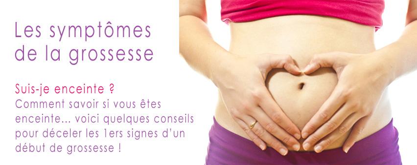 Symptomes femme enceinte
