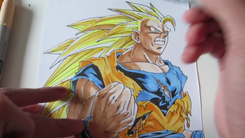 Comment dessiner sangoku ?
